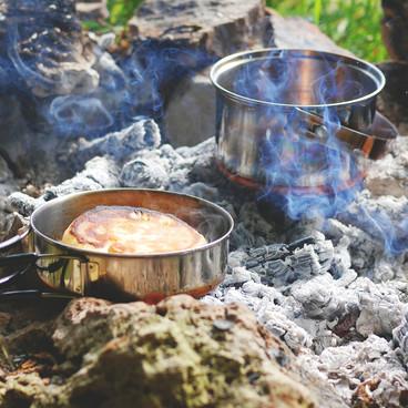 Gastronomi over bål