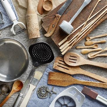 Kend dine køkkenredskaber